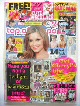 <!--2009-08-19-->Top Of The Pops magazine - Cheryl Cole cover (19 August-15