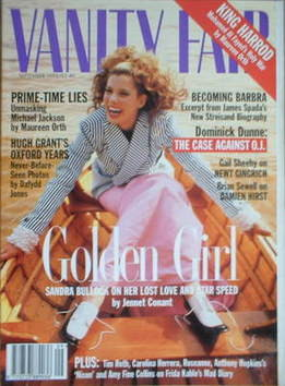 <!--1995-09-->Vanity Fair magazine - Sandra Bullock cover (September 1995)