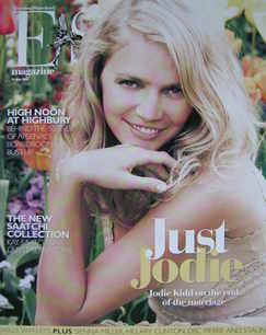 Evening Standard magazine - Jodie Kidd cover (11 May 2007)