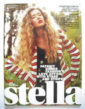 Stella magazine - Fashion Stars And Stripes cover (23 March 2008)