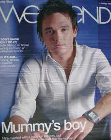 Weekend magazine - Gareth Gates cover (31 January 2009)