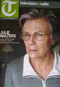 Television&Radio magazine - Julie Walters cover (24 January 2009)