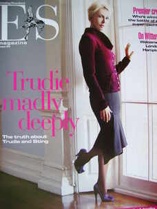 <!--2005-08-05-->Evening Standard magazine - Trudie Styler cover (5 August