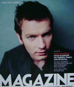 <!--2005-08-06-->The Times magazine - Ewan McGregor cover (6 August 2005)