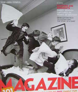 <!--2006-07-22-->The Times magazine - The Beatles cover (22 July 2006)