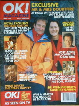 <!--1994-05-->OK! magazine - Robin Williams cover (May 1994)