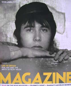 <!--2007-10-13-->The Times magazine - Bryan Ferry cover (13 October 2007)