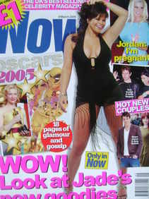 Now magazine - Jade Goody cover (9 March 2005)