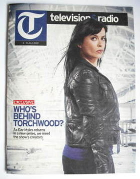 Television&Radio magazine - Eve Myles cover (4 July 2009)