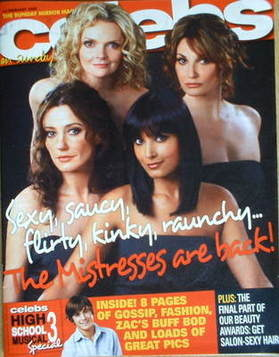 <!--2009-02-15-->Celebs magazine - The Mistresses cover (15 February 2009)