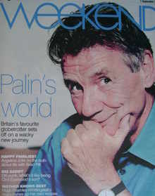 <!--2007-09-01-->Weekend magazine - Michael Palin cover (1 September 2007)