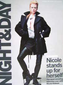 Night & Day magazine - Nicole Kidman cover (24 July 2005)