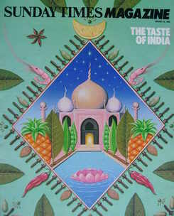 <!--1983-01-23-->The Sunday Times magazine - The Taste Of India cover (23 J