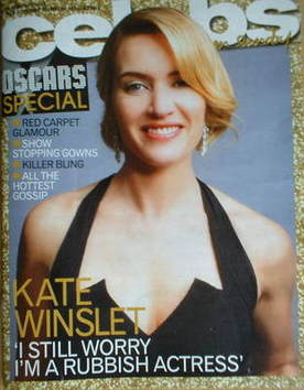 <!--2009-02-22-->Celebs magazine - Kate Winslet cover (22 February 2009)