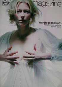 <!--2005-11-19-->Telegraph magazine - Tilda Swinton cover (19 November 2005