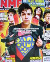 <!--2006-04-22-->NME magazine - Fall Out Boy cover (22 April 2006)