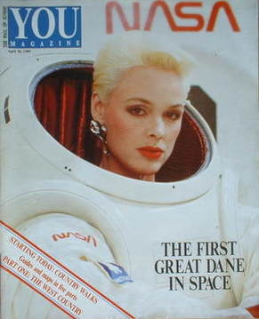 <!--1989-04-30-->You magazine - Brigitte Nielsen cover (30 April 1989)