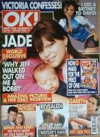 <!--2003-09-02-->OK! magazine - Jade Goody and Bobby cover (2 September 2003 - Issue 382)