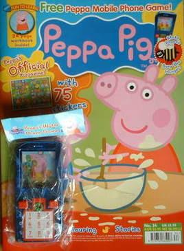 <!--2009-02-->Peppa Pig magazine - No. 34 (February 2009)