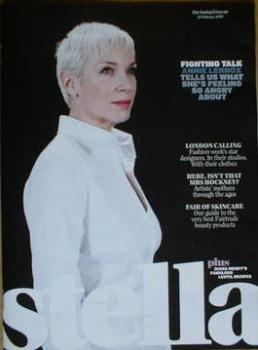 Stella magazine - Annie Lennox cover (22 February 2009)
