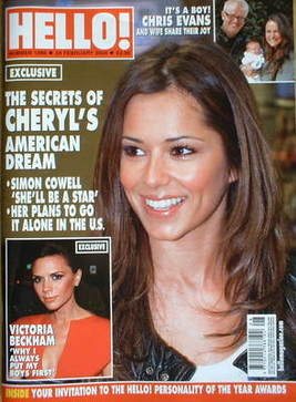 <!--2009-02-24-->Hello! magazine - Cheryl Cole cover (24 February 2009 - Is