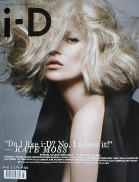 <!--2009-03-->i-D magazine - Kate Moss cover (March 2009)