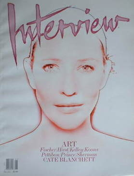<!--2008-12-->Interview magazine - December 2008/January 2009 - Cate Blanch