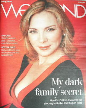 Weekend magazine - Kim Cattrall cover (11 July 2009)