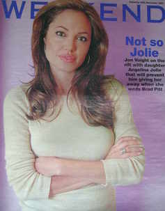 Weekend magazine - Angelina Jolie cover (26 November 2005)