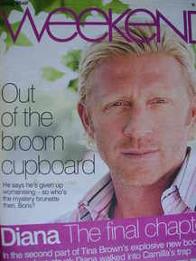 <!--2007-06-16-->Weekend magazine - Boris Becker cover (16 June 2007)