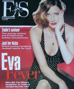 <!--2003-08-15-->Evening Standard magazine - Eva Rice cover (15 August 2003