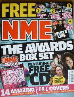 <!--2009-02-28-->NME magazine - The Awards Box Set (28 February 2009)