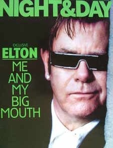 Night & Day magazine - Elton John cover (6 March 2005)