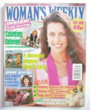 <!--1993-07-06-->Woman's Weekly magazine (6 July 1993)