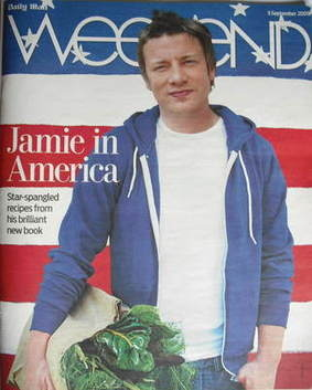 Weekend magazine - Jamie Oliver cover (5 September 2009)