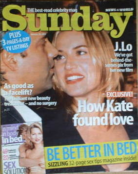 <!--2002-01-20-->Sunday magazine - 20 January 2002 - Kate Winslet and Sam M
