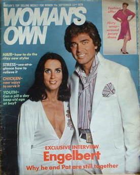 <!--1979-09-22-->Woman's Own magazine - 22 September 1979 - Engelbert Humperdinck cover