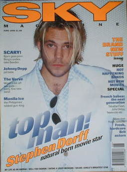 <!--1995-06-->Sky magazine - Stephen Dorff cover (June 1995)