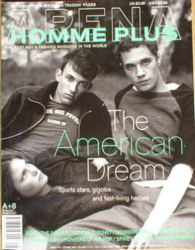 Arena Homme Plus magazine (Autumn/Winter 1997 - Issue 8 - The American Dream cover)