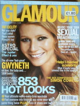 <!--2004-02-->Glamour magazine - Gwyneth Paltrow cover (February 2004)