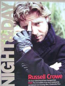 Night & Day magazine - Russell Crowe cover (12 June 2005)