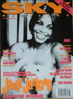 <!--1993-06-->Sky magazine - Janet Jackson (June 1993)
