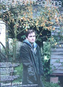 <!--2008-11-22-->Telegraph magazine - David Tennant cover (22 November 2008