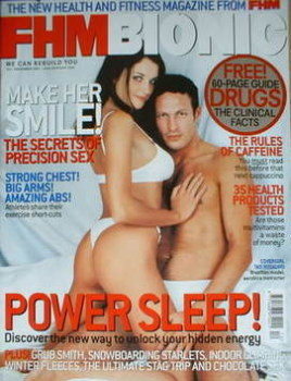 FHM Bionic magazine (December 2001)