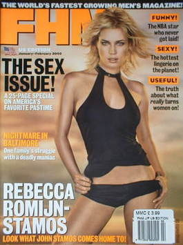<!--2002-01-->FHM magazine - Rebecca Romijn-Stamos (January/February 2002 -