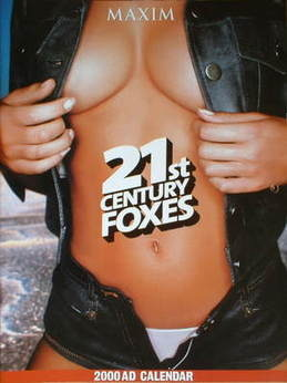 MAXIM calendar 2000 - 21st Century Foxes