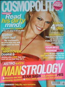 <!--2004-01-->Cosmopolitan magazine (January 2004)