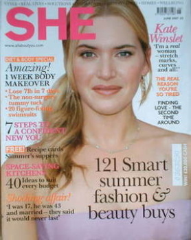 She magazine (June 2007 - Kate Winslet cover)