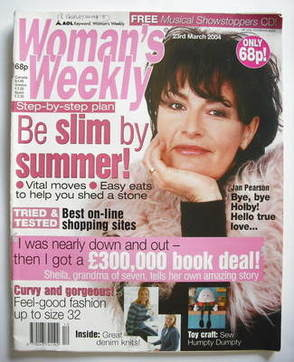 <!--2004-03-23-->Woman's Weekly magazine (23 March 2004)