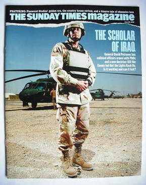 <!--2008-06-29-->The Sunday Times magazine - The Scholar of Iraq cover (29